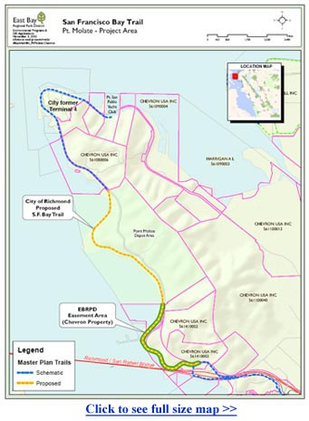 Trails for Richmond Action Committee - The Bay Trail in ... on lake del valle trail map, santa cruz mountains trail map, joaquin miller park trail map, upper tampa bay trail map, lake lopez campsite map, marin county trail map, liberty state park trail map, eel river trail map, torrey pines state reserve trail map, hollywood trail map, ventura river trail map, monterey bay trail map, united states trail map, three creek lake oregon map, south lake tahoe trail map, china camp state park trail map, la jolla trail map, wissahickon valley park trail map, mokelumne coast to crest trail map, bay bridge bike trail map,